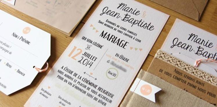 Faire Part Anniversaire De Mariage